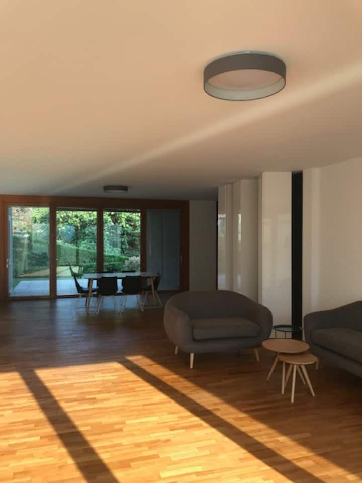 Cozy and modern apartment, with  private garden