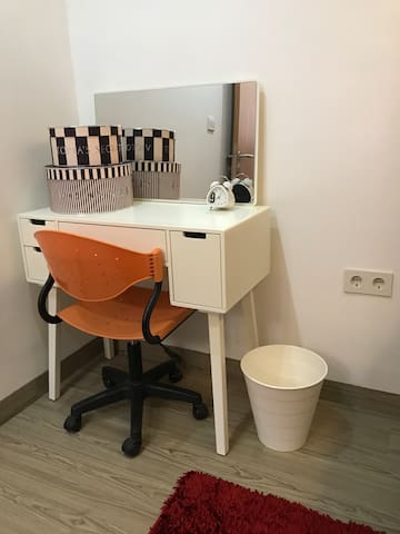 Dressing table, or you can also use it to work on your laptop/notebook