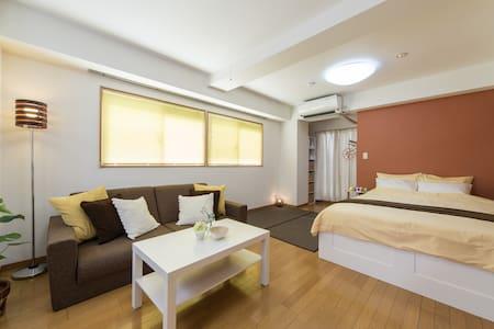 3 min from Shinsaibashi★Dotonbori ★ - Apartment