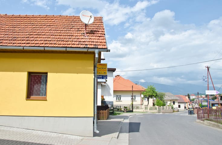 Sunny apartment in heart of Liptov - Závažná Poruba - Appartement