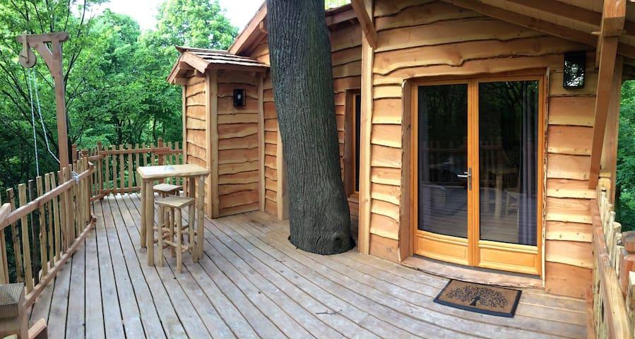 Cabane dans les arbres Cime - Raray - Ağaç Ev