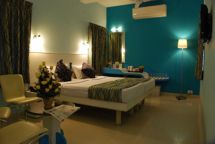 Hotel Pandian Deluxe Room With Free Breakfast Plan
