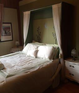 6- MENTHE DOUCE (SDB PARTAGÉE) - Sainte-Adèle - Bed & Breakfast