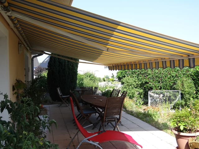 Gde maison moderne +jardin (Alsace) - Gambsheim - Dům