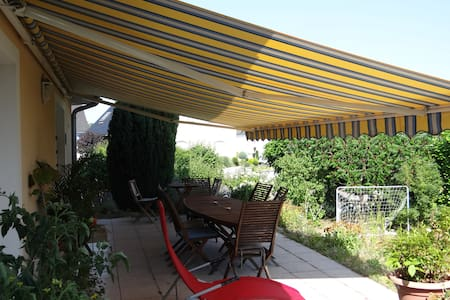 Gde maison moderne +jardin (Alsace) - Gambsheim