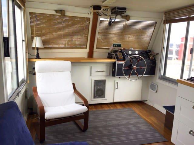 Cozy Houseboat on Lake Washington - Seattle - Boat