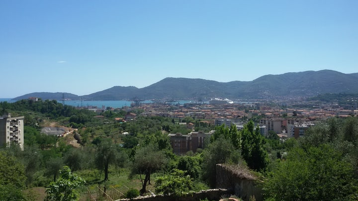 Colline della Spezia 10' dal centro
