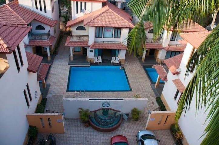 Villa with swimming pool @Calangute - Calangute - Hus