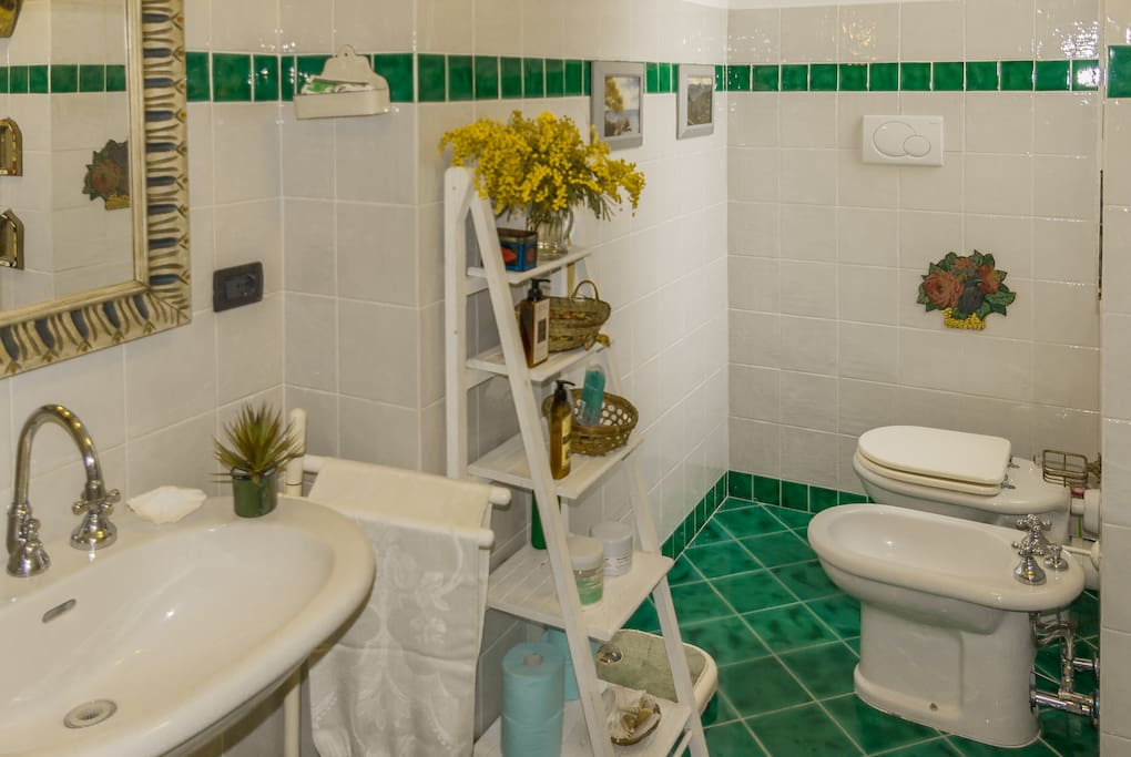 The bathroom, accessories (hair-dryer, extra towels, welcome kit, etc. ) available