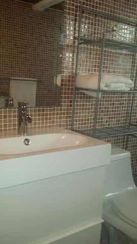 New modern bathroom sink