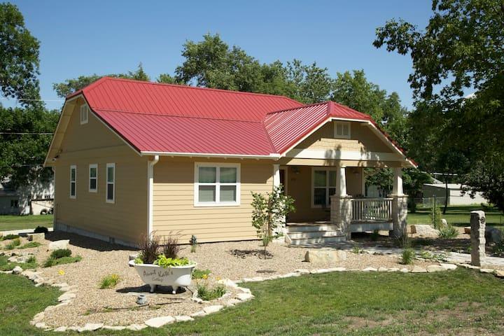 Aunt Kate's Cottage - new cottage