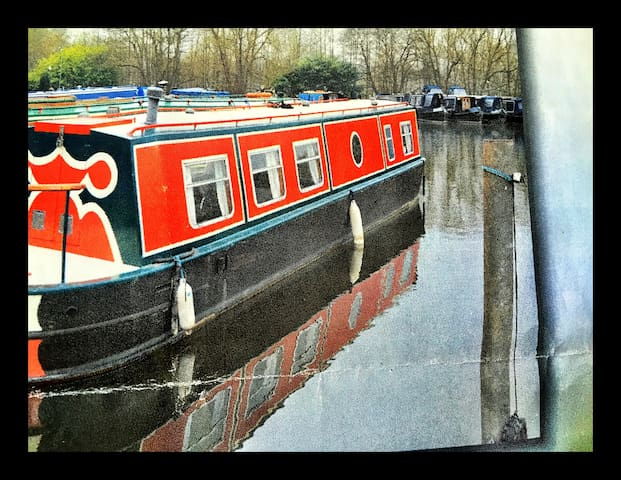 Hampton Court Riviera Narrow Boat - Londres - Bateau