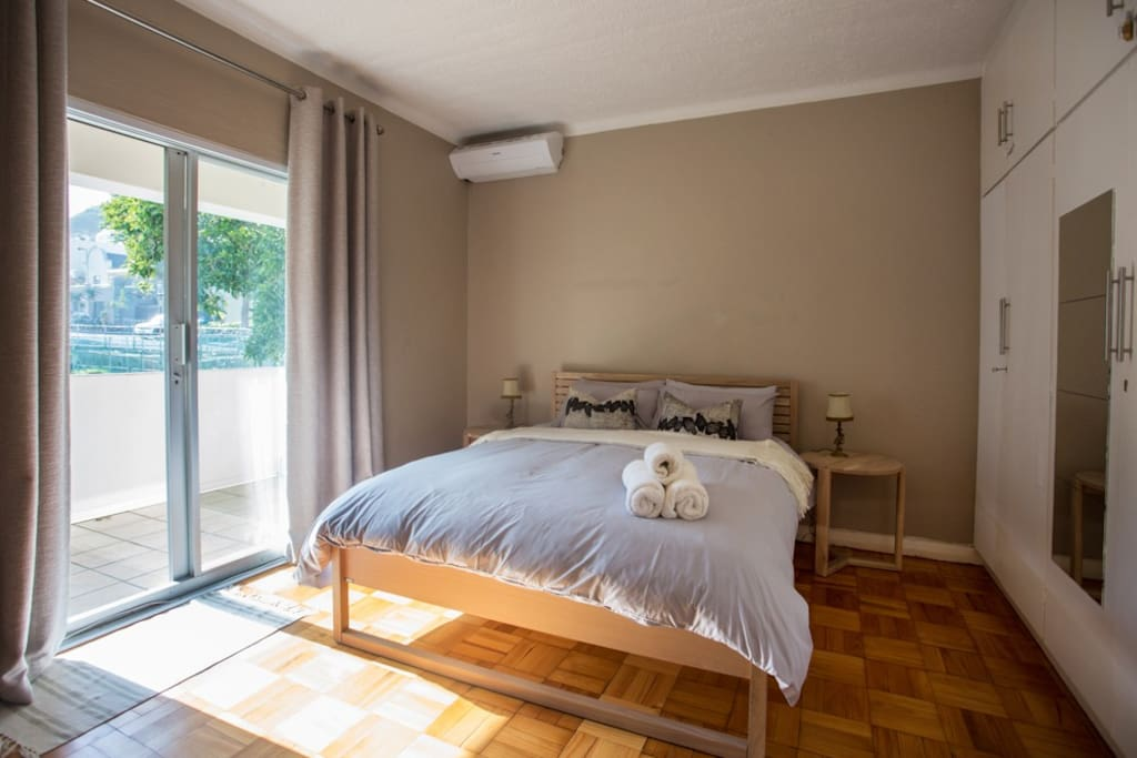 Air conditioning inside the main bedroom.