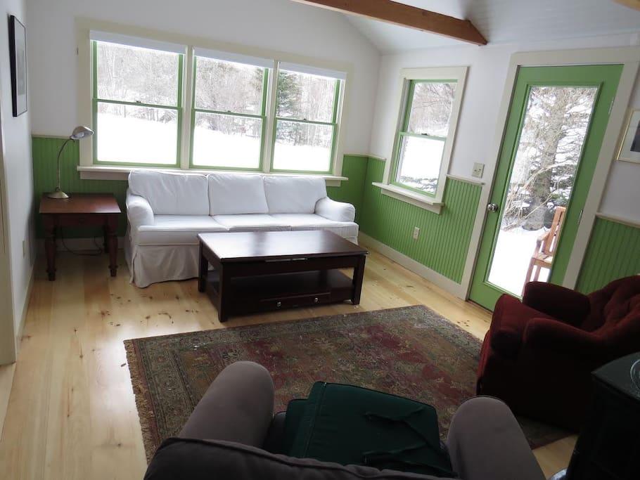 Cottage Living area.