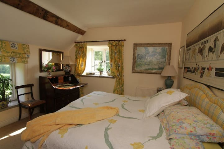 The Yellow Bedroom at Court-Y-Grove