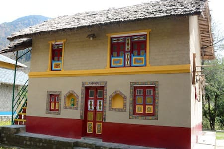 Traditional Una village mud house in Palampur - Huoneisto