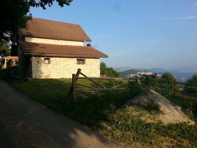 Propriété  avec vue exceptionnelle - Saint-Maurice-de-Rotherens