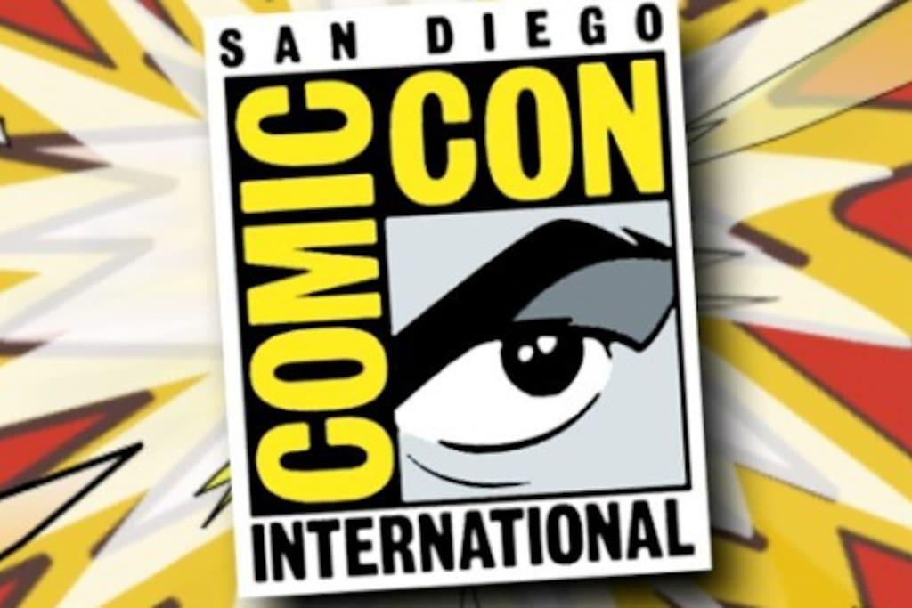 Comic Con! Cheap rates!