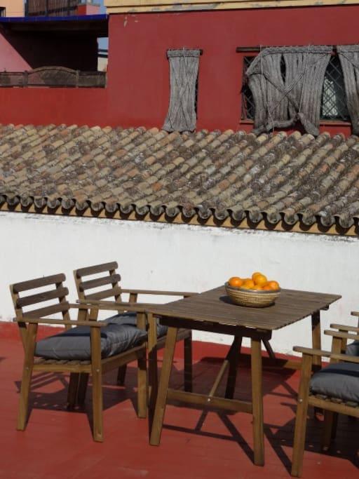 communitary terrace