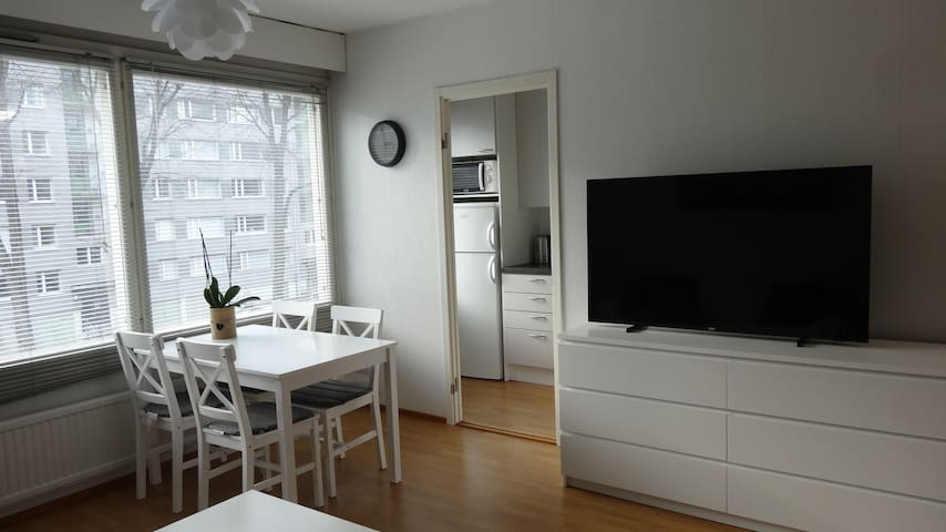 Studio apartment next to University campus