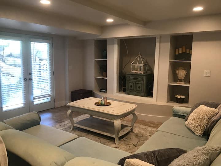 Central, Safe and Cozy 1 Bedroom Basement Apt.