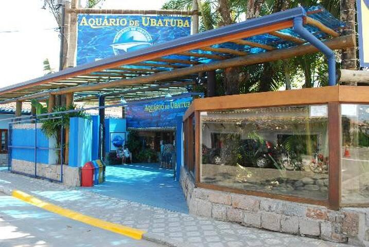 Aquário em Ubatuba