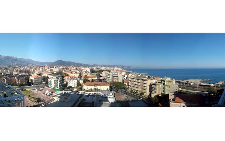 Un panorama energetico che ritempra - Borghetto Santo Spirito - Wohnung