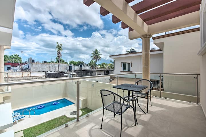 NEW! Chic Cozumel Penthouse Suite: Walk to Beaches