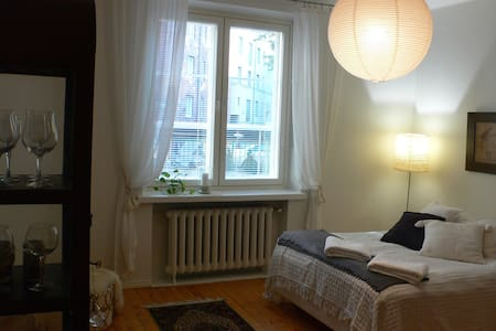 A cozy studio apartment at the center of Helsinki