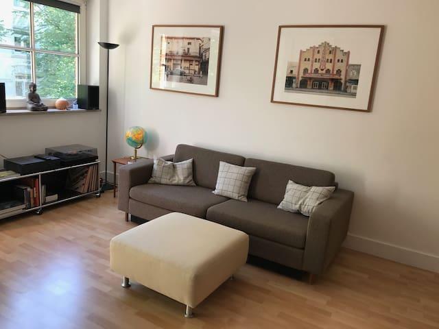 Renovierte Wohnung MidCentury Möbel Eppendorf UKE