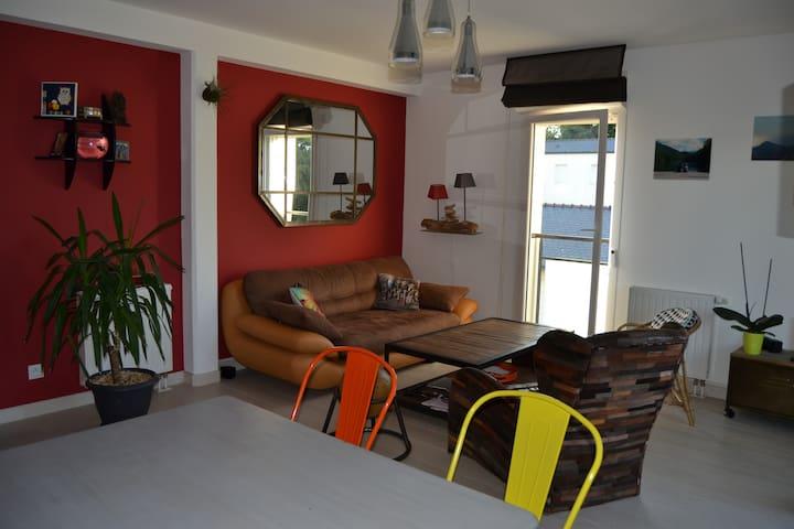 Appart T2 proche du port de Vannes - Séné - Apartmen