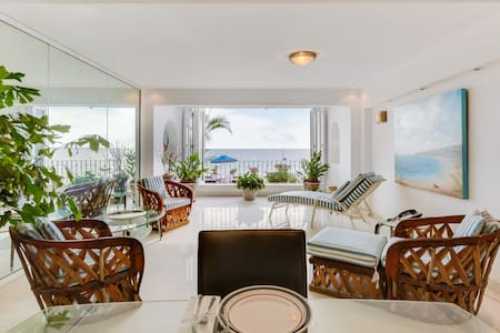 One bedroom oceanfront condo.