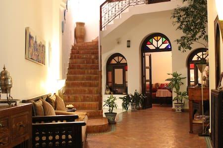 "Habitación ""Azahar"" en Dar Manara - Asilah - Bed & Breakfast"