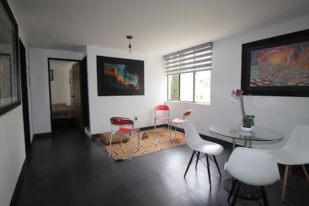 A newly remodeled apartment  in Ciudad Granja.