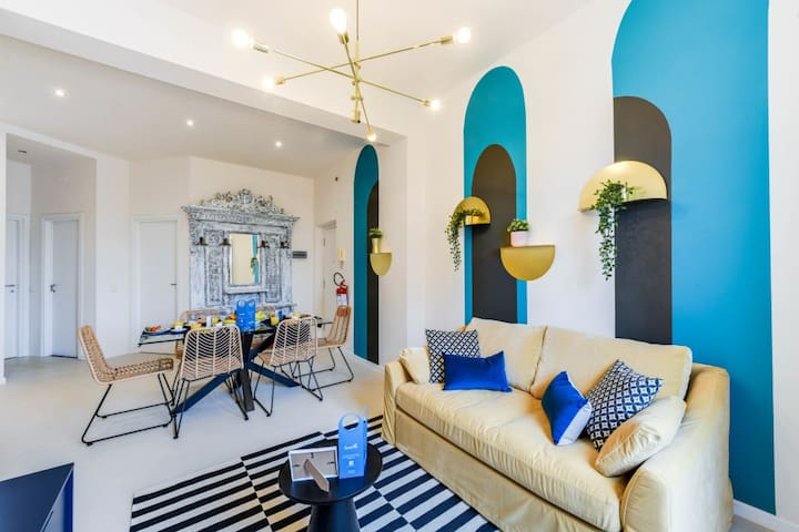 Fun & Colorful 2BR in the Heart of Milan!
