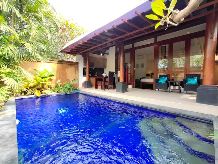 CHIC ROMANTIC 1BR Umalas Private Pool Villa