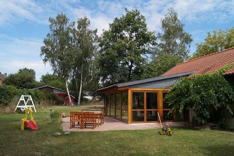 Schönes Häuschen mit großem Garten in Hornburg