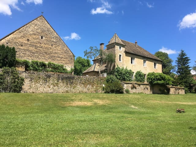 French Castle in the Loue Valley