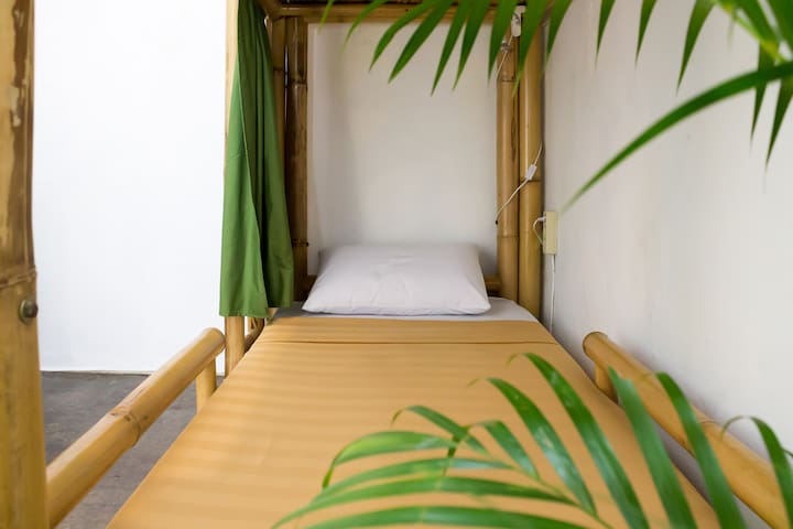 Bed in a Female Dorm in Jogjakarta City Center