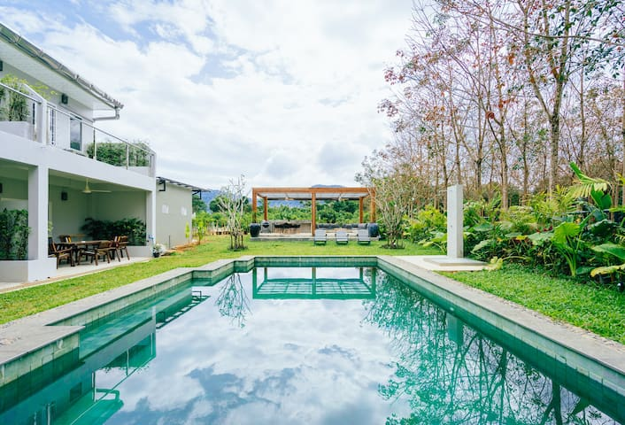 2-bedr. Isara house Khao Lak with pool access 13 - Khuekkhak - Hus