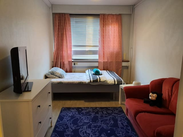 Studio apartment near Metro Station (Aalto Univ.)