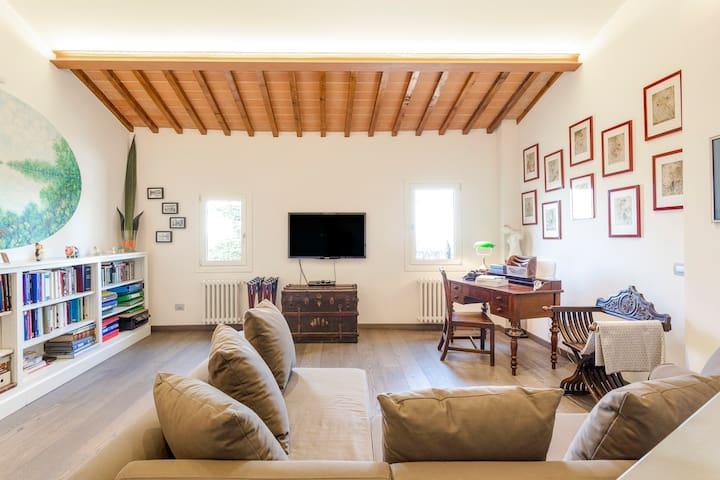 NEW! Charm&Relax in Settignano-Villa with terrace!