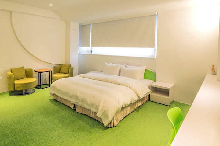 【Time Flyer Hotel】Deluxe Double Room