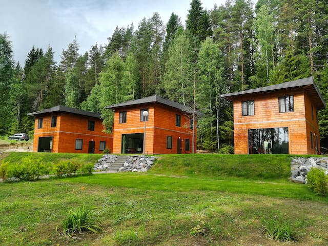 Дом для отдыха Brusnika Village