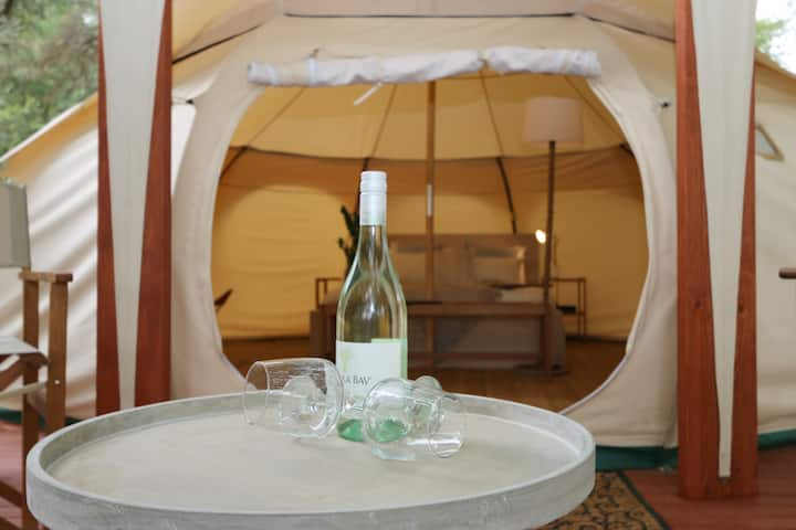 Daylesford Glamping |Tranquility| Luxury Bell Tent
