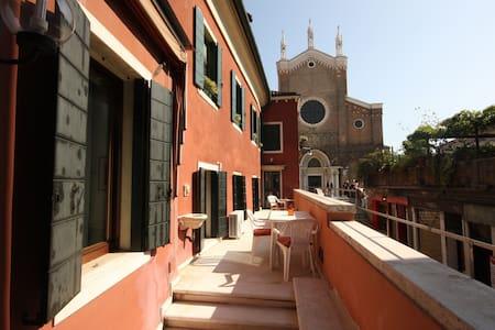 Terrazza con splendida vista - Venise - Appartement