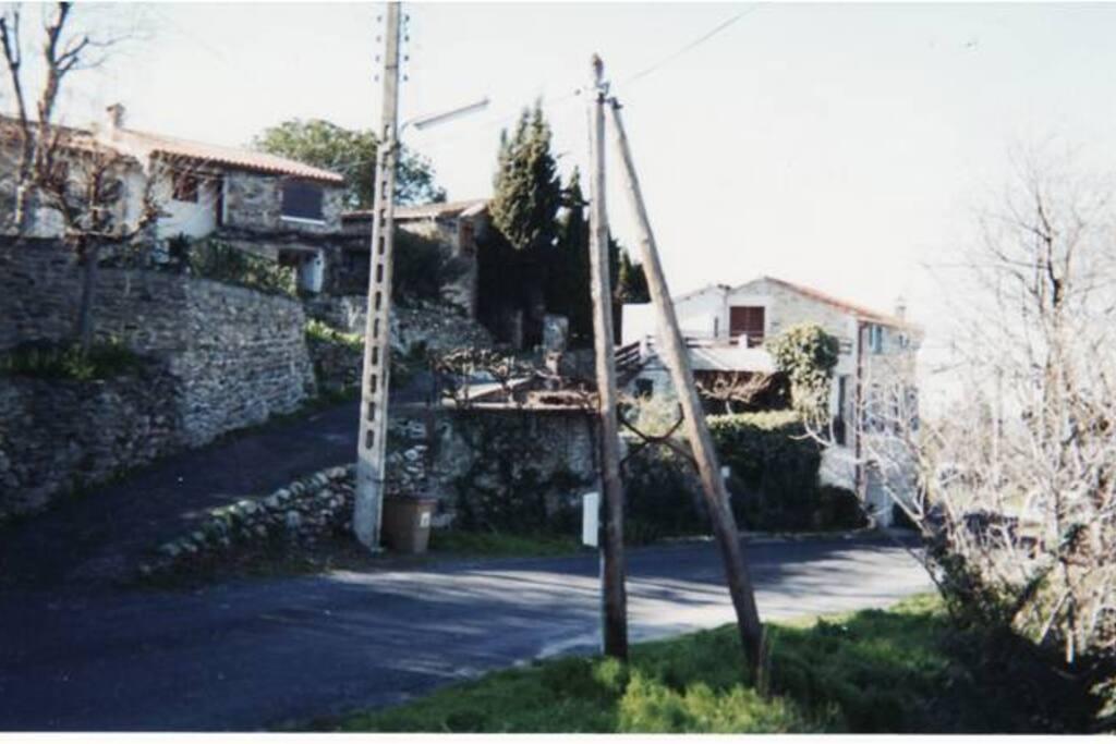 A la sortie du village
