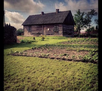 Prawdziwa wiejska chata nad zalewem - Szydłów - Cabin