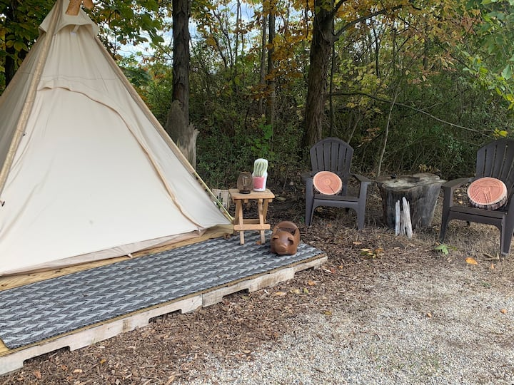 Welcome to the Whistle Pig. A cozier way to camp!