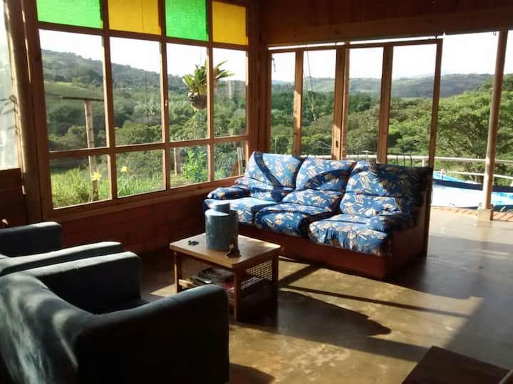 Casa campestre  montañas de Bitaco(CASA VABEL)